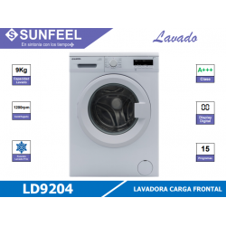 LAVADORA SUNFEEL LD9204...