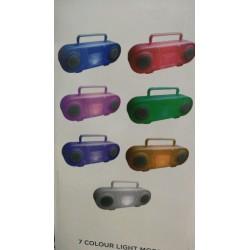 ALTAVOZ BLUETOOTH  LUZ LED...