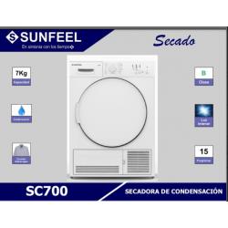 SECADORA SUNFEEL SC700...