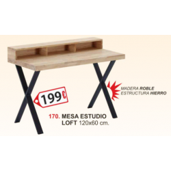 MESA DE ESTUDIO LOFT,...