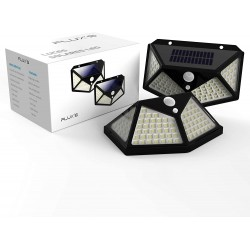 PACK 2 FOCOS SOLARES LED...
