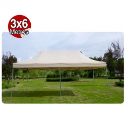 CARPA PLEGABLE ALUMINIO 3X6...