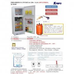 FRIGORIFICO DE GAS KYMPO...