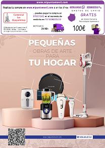 Catálogo de pequeño electroméstico, batidora, tostadoras